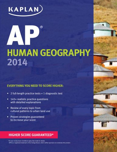 Kaplan AP Human Geography 2014  N/A edition cover