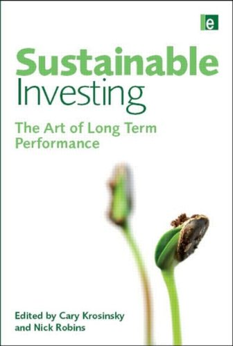 Sustainable Investing The Art of Long Term Performance  2008 edition cover