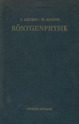 Rontgenphysik  2nd 1955 9783709178485 Front Cover
