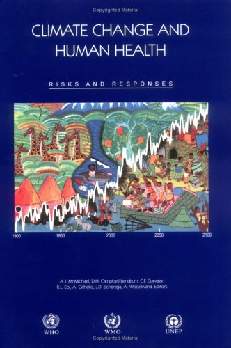 Climate Change and Human Health Risks and Responses  2003 edition cover