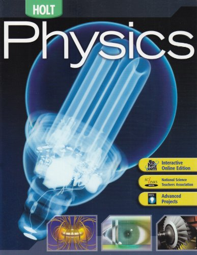 Physics  6th 2006 (Student Manual, Study Guide, etc.) 9780030735486 Front Cover