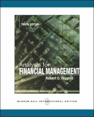 Analysis for Financial Management  10th 2012 9780071086486 Front Cover