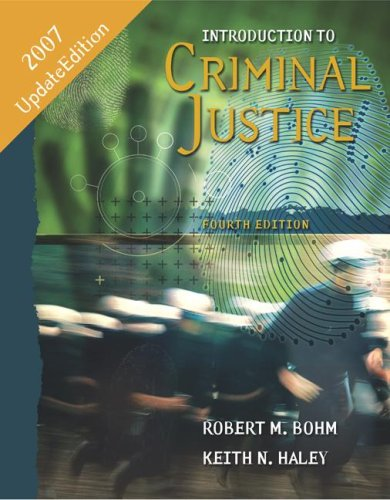 Introduction to Criminal Justice with PowerWeb 4th 2007 (Revised) edition cover