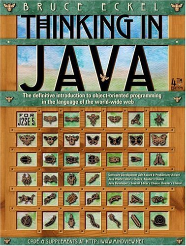 Thinking in Java  4th 2006 (Revised) edition cover