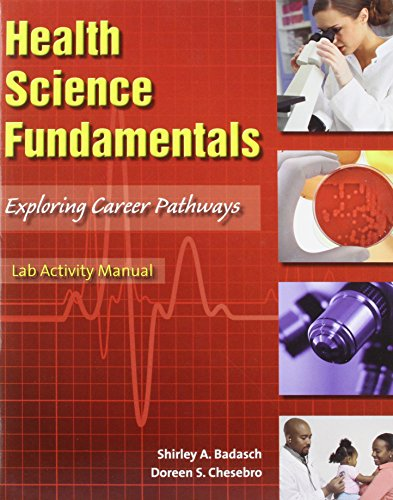 Health Science Fundamentals   2009 (Activity Book) 9780135043486 Front Cover