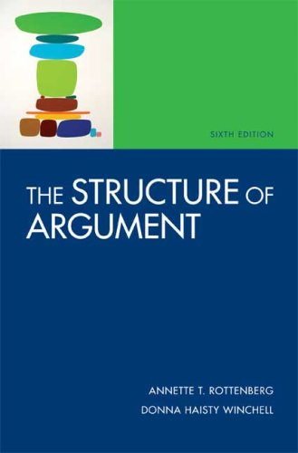 Structure of Argument  6th 2008 edition cover