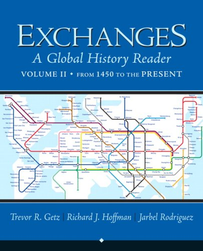 Exchanges A Global History Reader  2009 edition cover
