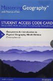 Geosystems Mastering Geography With Pearson Etext Standalone Access Card: An Introduction to Physical Geography  2014 edition cover