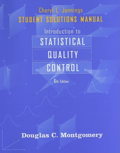 Introduction to Statistical Quality Control  6th 2009 9780470449486 Front Cover