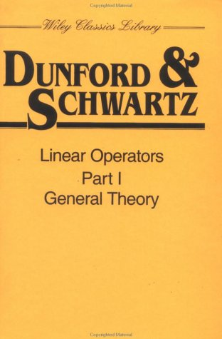 Linear Operators General Theory  1988 9780471608486 Front Cover