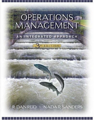 Operations Management An Integrated Approach 3rd 2007 (Revised) 9780471794486 Front Cover
