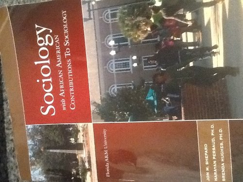 SOCIOLOGY W/AFRICAN AMERICANS >CUSTOM<  N/A 9780495976486 Front Cover