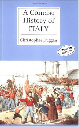 Concise History of Italy   1994 edition cover