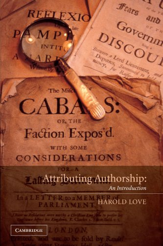 Attributing Authorship An Introduction  2002 9780521789486 Front Cover