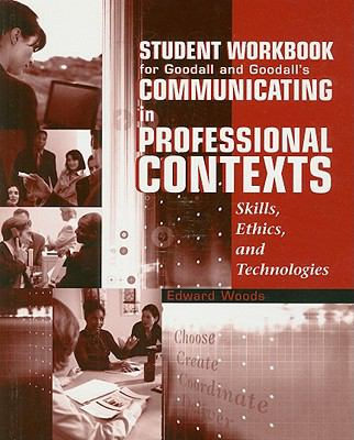 Communicating in Professional Contexts   2002 (Workbook) 9780534563486 Front Cover