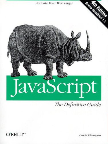 Javascript  4th 2002 edition cover