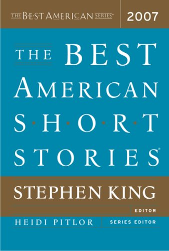 Best American Short Stories 2007   2007 edition cover