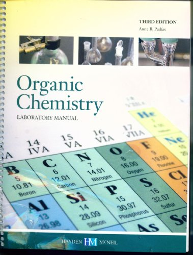 ORGANIC CHEMISTRY LABORATORY MANUAL N/A 9780738037486 Front Cover