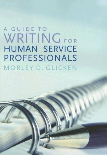 Guide to Writing for Human Service Professionals   2007 edition cover