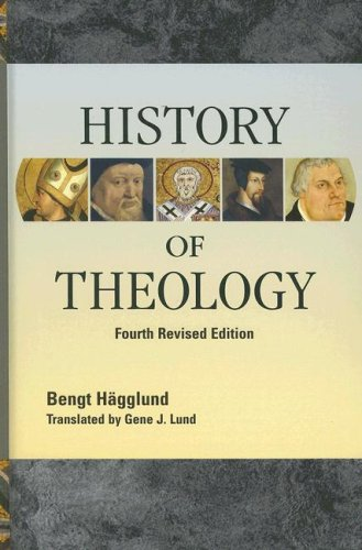 History of Theology  4th 2007 edition cover