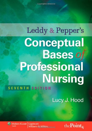 Conceptual Bases of Professional Nursing  7th 2010 (Revised) edition cover