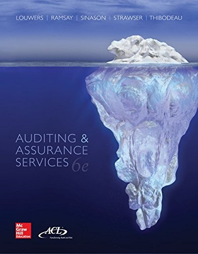 Auditing & Assurance Services + Acl Software + Connect Access Card:   2015 9781259665486 Front Cover