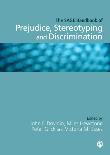 SAGE Handbook of Prejudice, Stereotyping and Discrimination   2010 edition cover