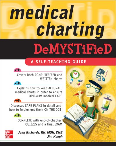 Medical Charting   2008 edition cover