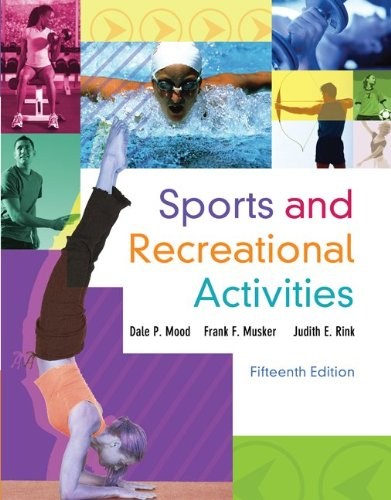 Sports and Recreational Activities  15th 2012 edition cover