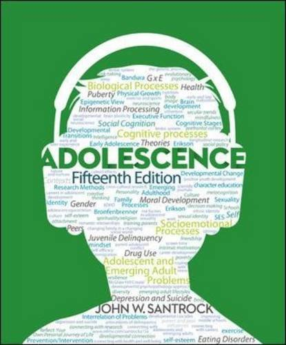 Adolescence  15th 2014 9780078035487 Front Cover