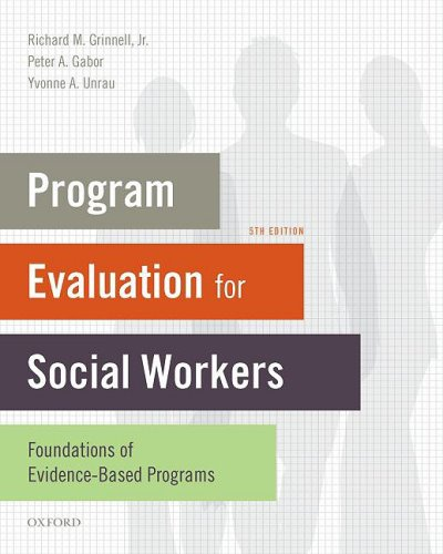 Program Evaluation for Social Workers Foundations of Evidence-Based Programs 5th 2010 edition cover