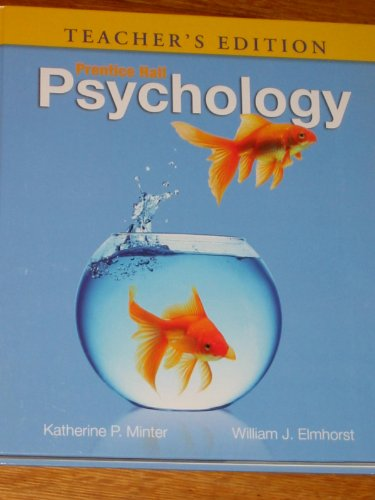 PRENTICE HALL PSYCHOLOGY >TEAC N/A edition cover