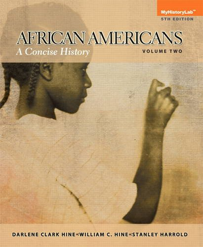 African Americans A Concise History, Volume 2 5th 2014 edition cover