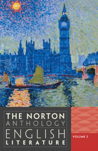 Norton Anthology of English Literature  9th 2012 9780393912487 Front Cover