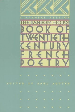 Random House Book of Twentieth-Century French Poetry  N/A edition cover