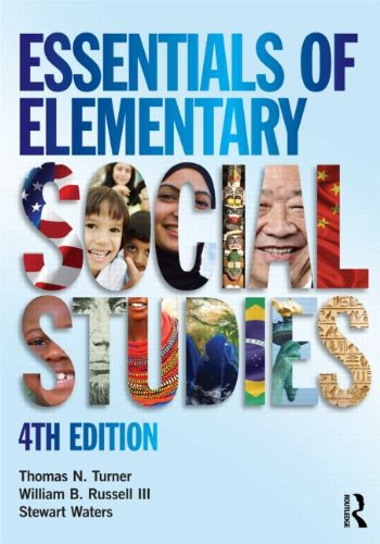 Essentials of Elementary Social Studies  4th 2013 (Revised) 9780415638487 Front Cover