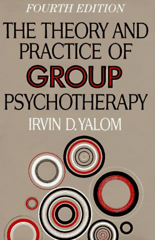 Theory and Practice of Group Psychotherapy  4th 1995 edition cover
