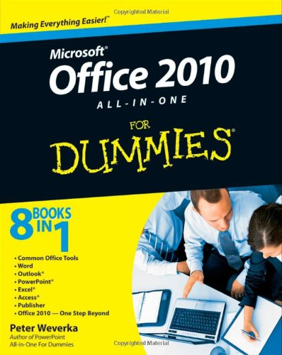 Microsoft Office 2010 All-in-One for Dummies�   2010 edition cover