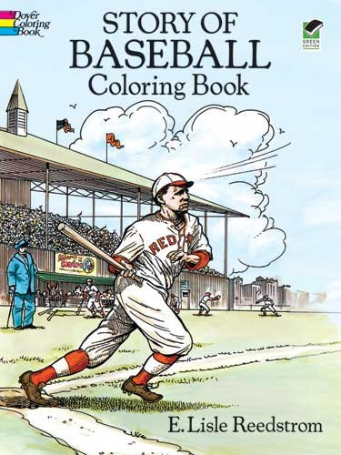 Story of Baseball Coloring Book  N/A edition cover