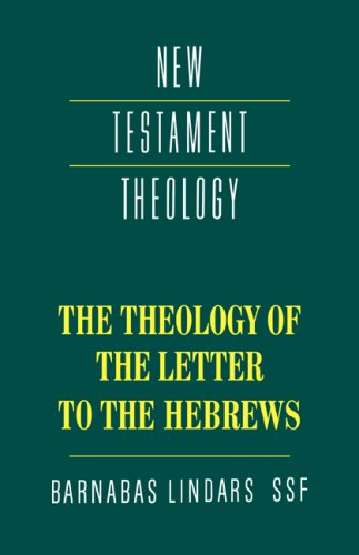 Theology of the Letter to the Hebrews   1991 edition cover