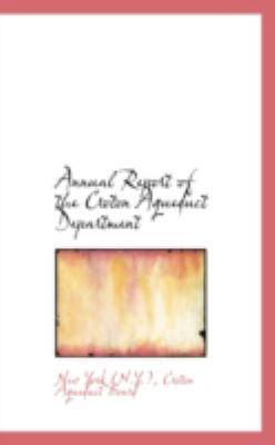 Annual Report of the Croton Aqueduct Department:   2008 edition cover