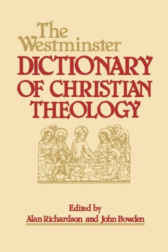 Westminster Dictionary of Christian Theology  N/A 9780664227487 Front Cover