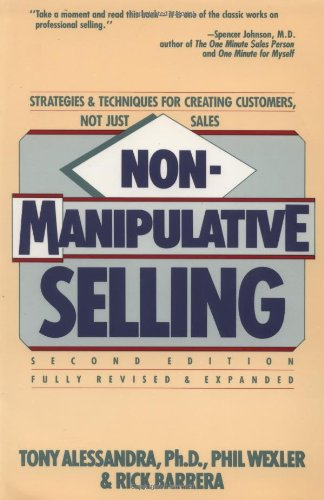 Non-Manipulative Selling   1992 edition cover