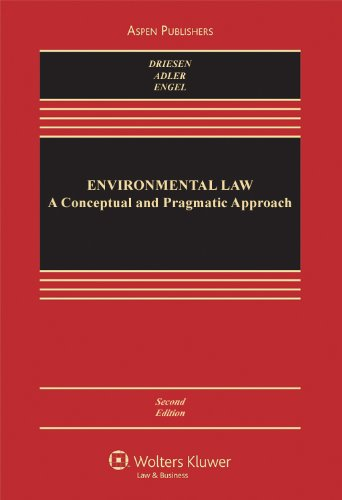 Environmental Law A Conceptual and Pragmatic Approach 2nd 2010 (Revised) edition cover
