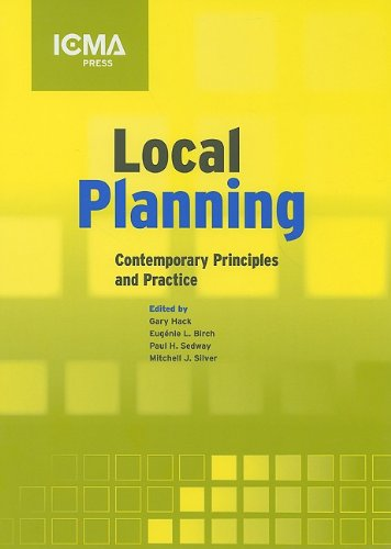 Local Planning : Contemporary Principles and Practice  2008 edition cover