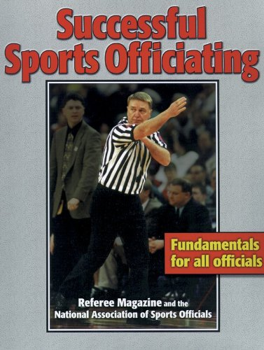Successful Sports Officiating   1999 edition cover