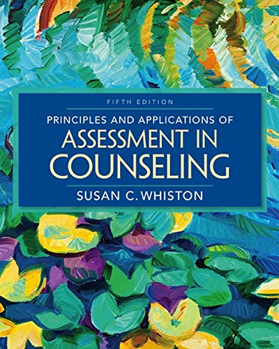 Principles and Applications of Assessment in Counseling:   2016 9781305271487 Front Cover