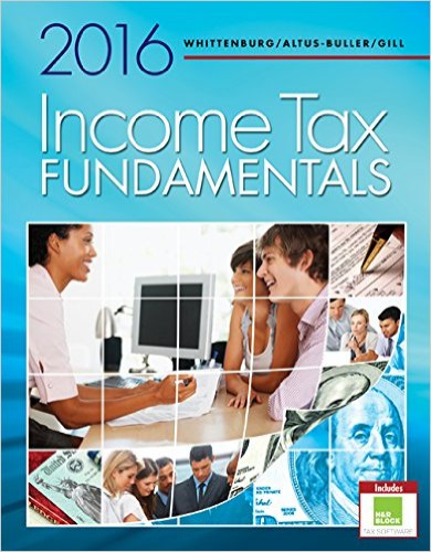 Income Tax Fundamentals 2016: With H&r Block Premium & Business Software 34th 2015 9781305664487 Front Cover