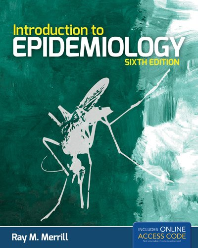 Introduction to Epidemiology  6th 2013 edition cover