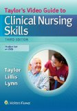 TAYLOR'S VIDEO GDE..NURS.SKILLS-DVD 3rd edition cover